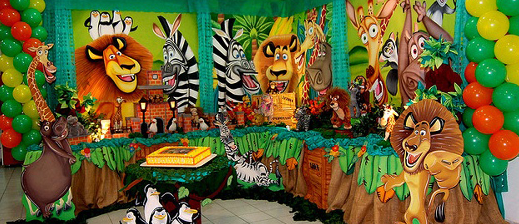 Madagascar Theme 1 Star Themes For Birthday Party